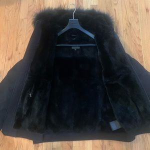 Mackage Fulton Fur Lined Bomber